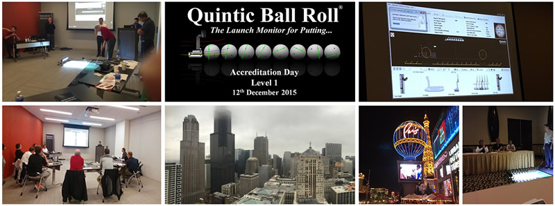 The Quintic Ball Roll Accreditation Plaque and Certified Instructor Certificate